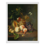 A Still Life on a Marble Ledge Poster