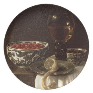 A Still Life Plate