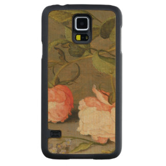 A Still Life with Roses on a Ledge Carved Maple Galaxy S5 Case