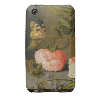 A Still Life with Roses on a Ledge Case-Mate iPhone 3 Case