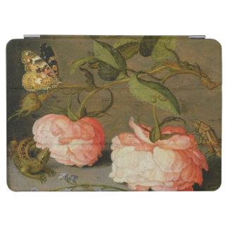 A Still Life with Roses on a Ledge iPad Air Cover