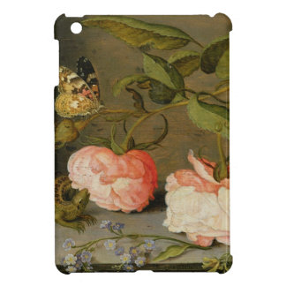 A Still Life with Roses on a Ledge iPad Mini Cases