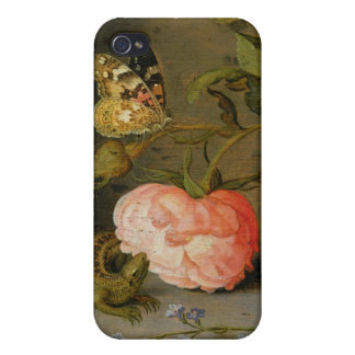A Still Life with Roses on a Ledge Cases For iPhone 4