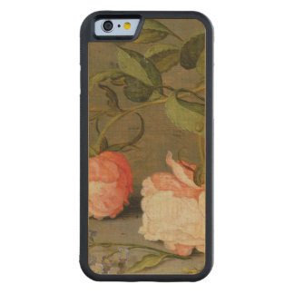 A Still Life with Roses on a Ledge Maple iPhone 6 Bumper