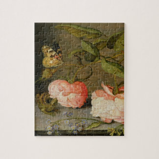 A Still Life with Roses on a Ledge Puzzles