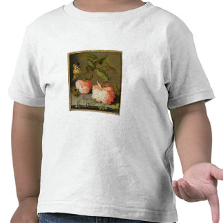 A Still Life with Roses on a Ledge Shirts