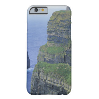 a stone castle standing on top a steep cliff in barely there iPhone 6 case