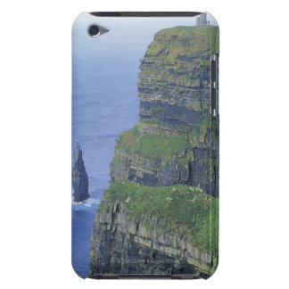 a stone castle standing on top a steep cliff in iPod touch Case-Mate case