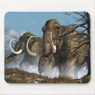A Storm Of Mammoths Mouse Mat