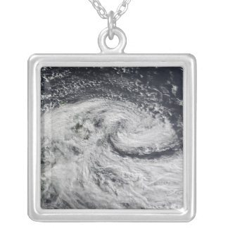 A storm over new Zealand Silver Plated Necklace