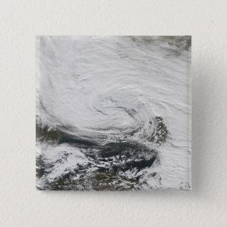 A storm over the Black Sea and the Sea of Azov 15 Cm Square Badge