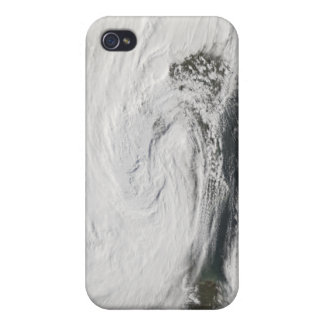 A storm over the Black Sea and the Sea of Azov Cover For iPhone 4