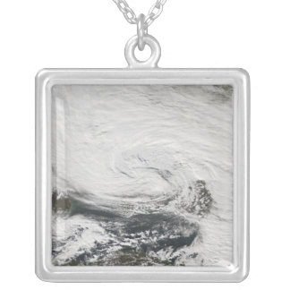 A storm over the Black Sea and the Sea of Azov Silver Plated Necklace