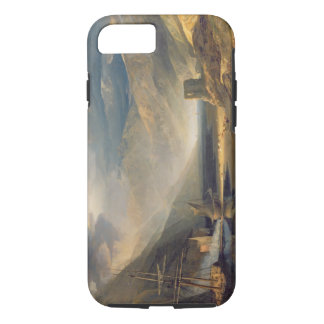 A Storm Passing Off on the Coast of Merionethshire iPhone 8/7 Case