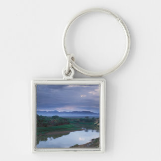 A stormy morning, with threatening clouds key ring