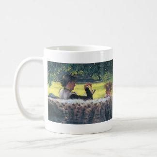 A story read by James Tissot Coffee Mug
