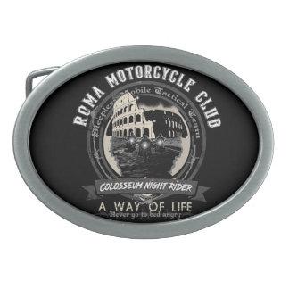 A strange Motorcycle Club Belt Buckles