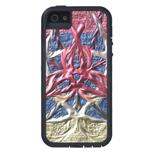A strange pattern iPhone 5 case