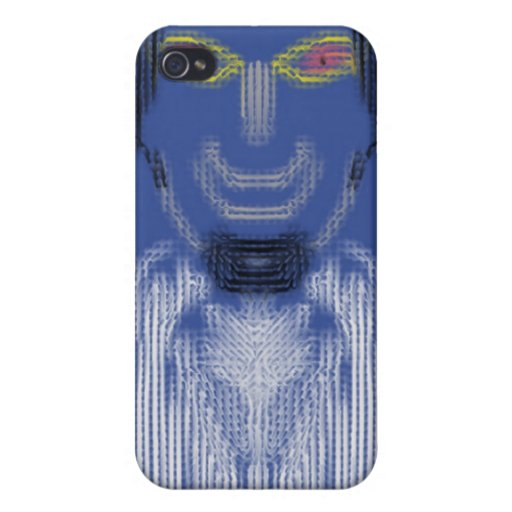 A strange person iPhone 4/4S cover