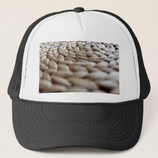 A Straw Braid's Spiral Trucker Hat