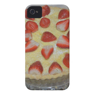 A strawberry cake iPhone 4 Case-Mate cases