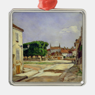 A Street in Avallon Christmas Ornament