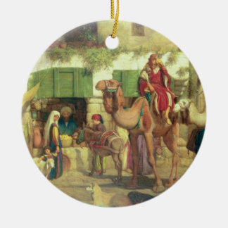 A Street in Jerusalem, 1867 Christmas Ornament