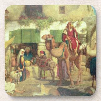 A Street in Jerusalem, 1867 Coaster