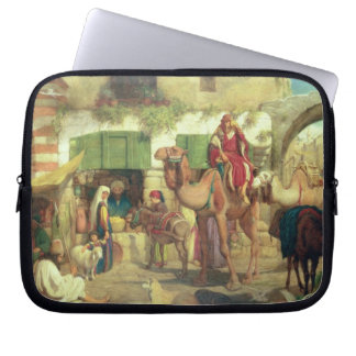 A Street in Jerusalem, 1867 Laptop Sleeve