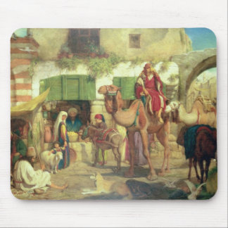 A Street in Jerusalem, 1867 Mouse Mat