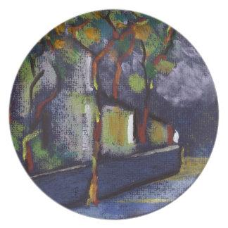 A street in spain Plate