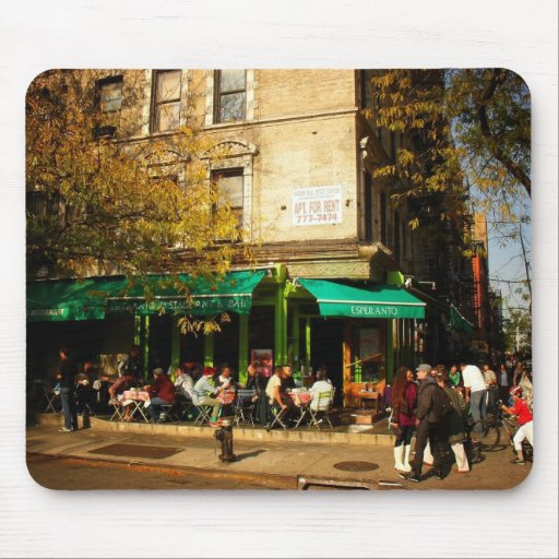 A Street Scene in Alphabet City, East Village, NY Mousepads