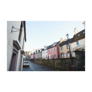 A street scene in Queensferry Canvas Prints