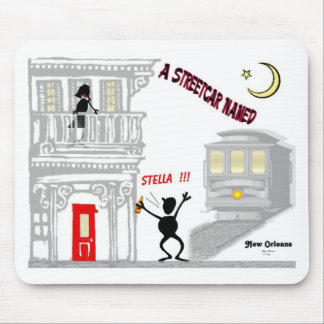 A Streetcar Named DESIRE Mouse Mat