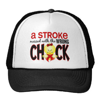A Stroke Messed With The Wrong Chick Cap