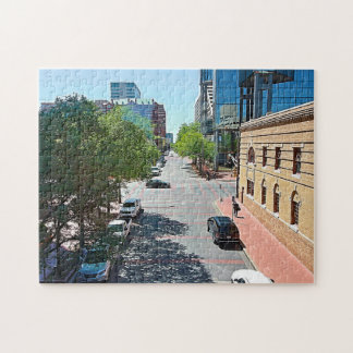 A Stroll Down City Streets Jigsaw Puzzle