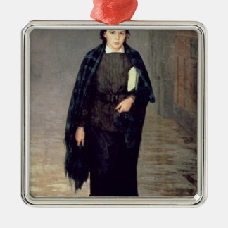 A Student, 1883 Christmas Ornament