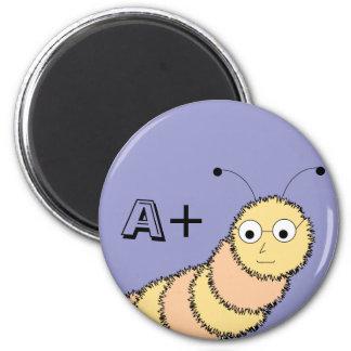 A+ Student Bookworm Magnet