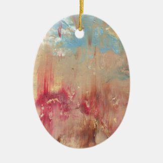 A Study in colour Ceramic Oval Decoration