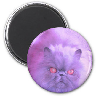 A Study in Lilac 6 Cm Round Magnet