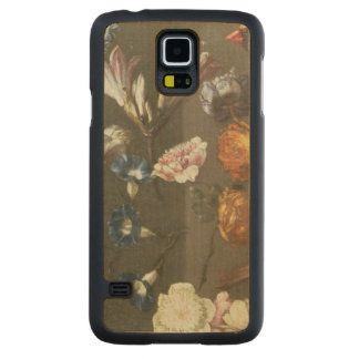 A Study of Peonies, Convolvulus, Lilies and two Fi Carved Maple Galaxy S5 Case
