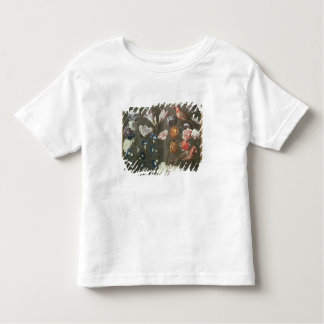 A Study of Peonies, Convolvulus, Lilies and two Fi Toddler T-Shirt