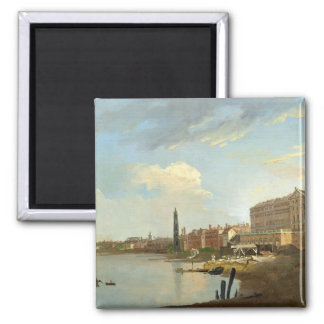 A Study of the Thames with the Final Stages of the Square Magnet