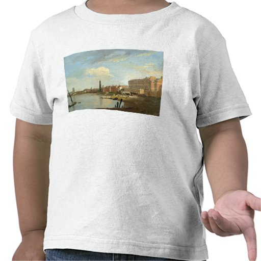 A Study of the Thames with the Final Stages of the Shirts