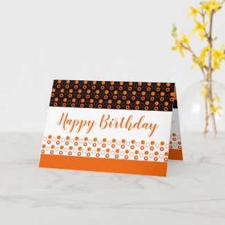 A Stylish Birthday Greeting Card