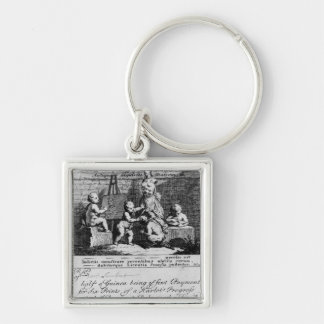 A Subscription Ticket for 'A Harlot's Key Ring