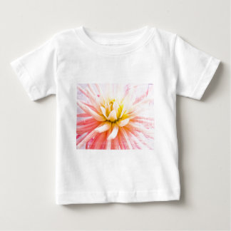 A summer Dahlia flower on wood texture Baby T-Shirt