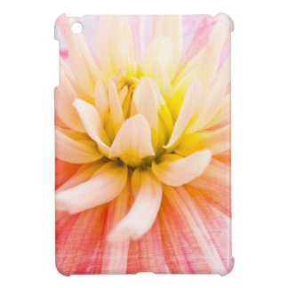 A summer Dahlia flower on wood texture Cover For The iPad Mini
