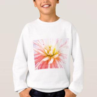 A summer Dahlia flower on wood texture Sweatshirt