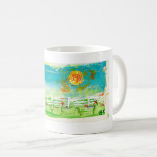 A Summer Fence Coffee Mug
